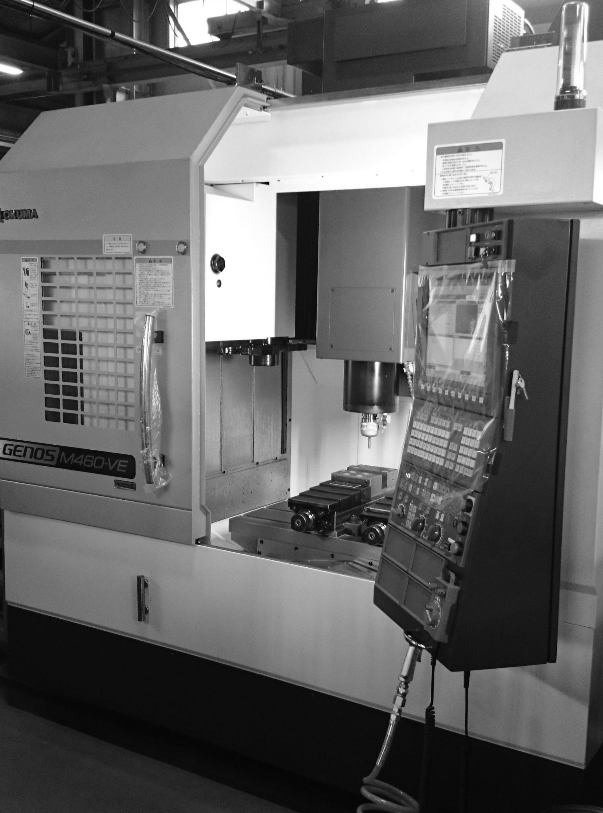 オークマ 4番 マシニング MC 浜松東区 治具 設計製作 機械加工 専用機 金属切削 加工組立 フライス 旋盤 ワイヤーカット